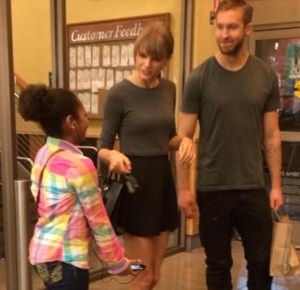Taylor-Swift-Calvin-Harirs-Whole-Foods-Fan